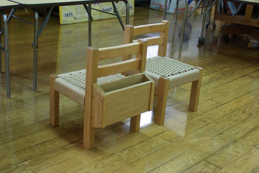 子供椅子の写真
