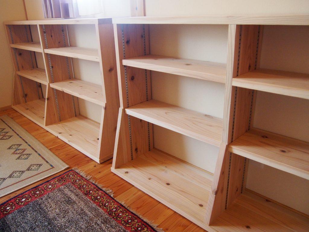 本棚1の写真